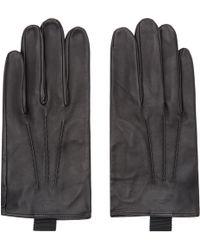 Thom Browne | Black Sheep Leather Gloves | Lyst