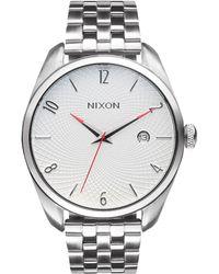 Nixon - A418 Bullet Women's Stainless Steel Strap Watch - Lyst