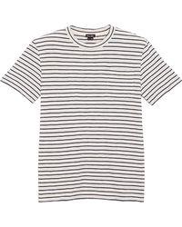 Steven Alan Classic Pocket T-Shirt - Blue