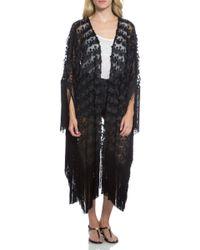 Alexis Danah Kimono black - Lyst