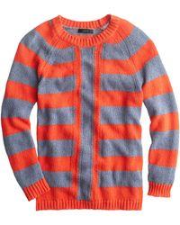 J.Crew Mixed-Stripe Sweater - Lyst