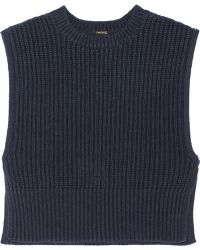 Adam Lippes Ribbed Silk and Cashmere-blend Top - Lyst