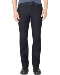 Calvin Klein Indigo Slim Straight Fit Jeans - Lyst