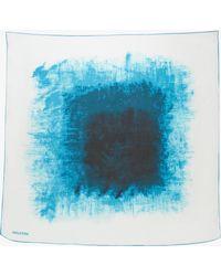 Halston Squared Print Scarf - Lyst