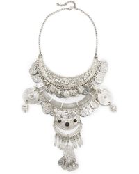 Raga - Gypsy Coin Statement Necklace - Lyst