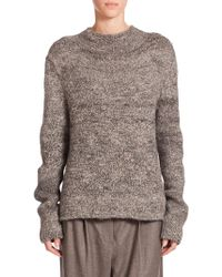 The Row Rane Tweed Knit Sweater - Lyst