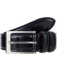 Barneys New York Leather Belt - Lyst