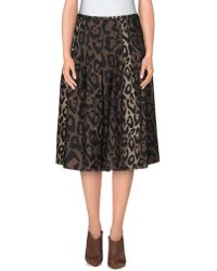 Samantha Sung - 3/4 Length Skirt - Lyst