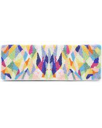 Nicole Miller Isosceles Clutch - Multicolor