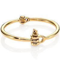 Miansai Brass Reeve Bracelet - Lyst