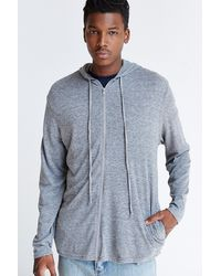 Alternative Droptail Zipup Hoodie Sweatshirt - Lyst