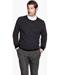 H&M Jumper in Merino Wool - Lyst