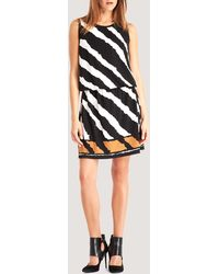 Kenneth Cole Layla Striped Dress - White