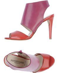 Pierre Darre' High Heeled Sandals - Lyst