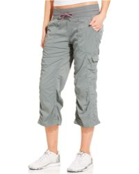 The North Face Aphrodite Drawstring Capri Pants - Lyst