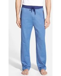 Boss by Hugo Boss Men'S Cotton Blend Lounge Pants - Lyst