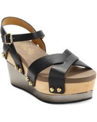 Flogg - Pepper Platform Wedge Sandals - Lyst