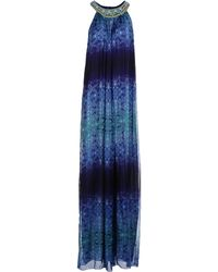 Matthew Williamson Long Dress - Lyst