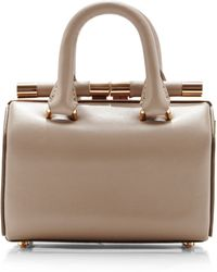 Tyler Alexandra - Jamie Doctor Bag in Small Light Beige - Lyst