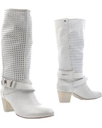 Vic Matie' Boots white - Lyst