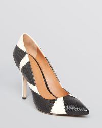 Rachel Roy Pointed Toe Pumps Alta High Heel - Black