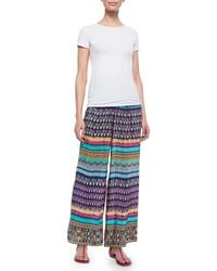 Tolani Olivia Wide-leg Pants - Multicolour