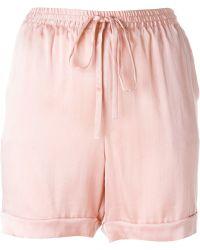 P.A.R.O.S.H. 'safira' Shorts - Pink