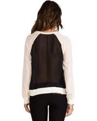 Pjk Patterson J. Kincaid Diamond Sweatshirt  - Black
