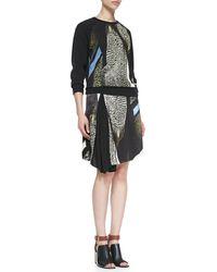 Reed Krakoff Reed Audubon Asymmetric Skirt - Lyst