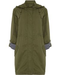 Linea Weekend Parka Coat - Lyst