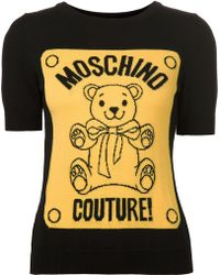 Moschino  Couture Sweater - Lyst