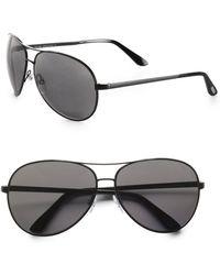 Tom Ford Charles Polarized Aviator Sunglasses - Lyst
