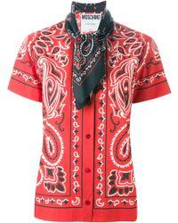 Moschino Paisley Shirt - Lyst