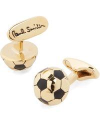 Paul Smith Soccer Ball Cufflinks - Lyst