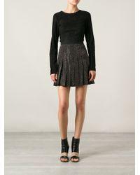 Versus  Starlight Microstuds Skirt - Lyst
