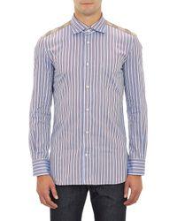Junya Watanabe Stripe  Tartan Shirt - Lyst