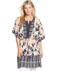 NIC+ZOE - 'tropical Tides' Tunic - Lyst