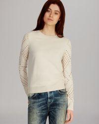 Karen Millen Sweater Jumbo Mesh Basics - Lyst