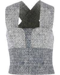 Yigal Azrouël | Speckled Cross Back Top | Lyst