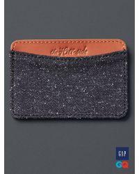 Gap - + Gq The Hill-side Herringbone Card Case - Lyst