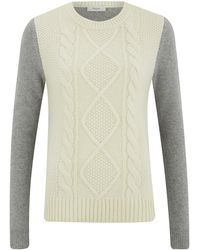 Paul by Paul Smith | Women's Cable Front Knitted Jumper | Lyst