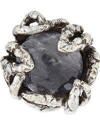 Koche - Rock Crystal Ring - Lyst