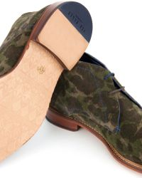 Ted Baker - Camo Print Ankle Boots - Lyst