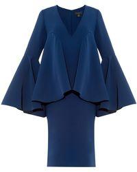 Ellery Polar Bell-Sleeved Dress - Lyst