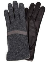 Frauenschuh Gloria Wool And Nappa Leather Glove - Lyst