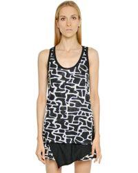 Proenza Schouler Printed Cotton Jersey Dress - Lyst