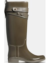 COACH Talia Rainboot - Green