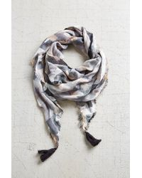 Ecote - Duo Plaid Scarf - Lyst