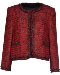 Alice + Olivia Red Blazer - Lyst