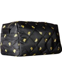 Marc By Marc Jacobs Crosby Quilt Nylon Fruit Cosmetics Large Cosmetic - Yellow